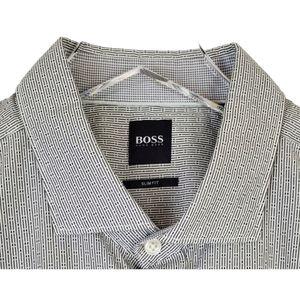 NWT Boss hugo boss slim ridley longsleeve shirt